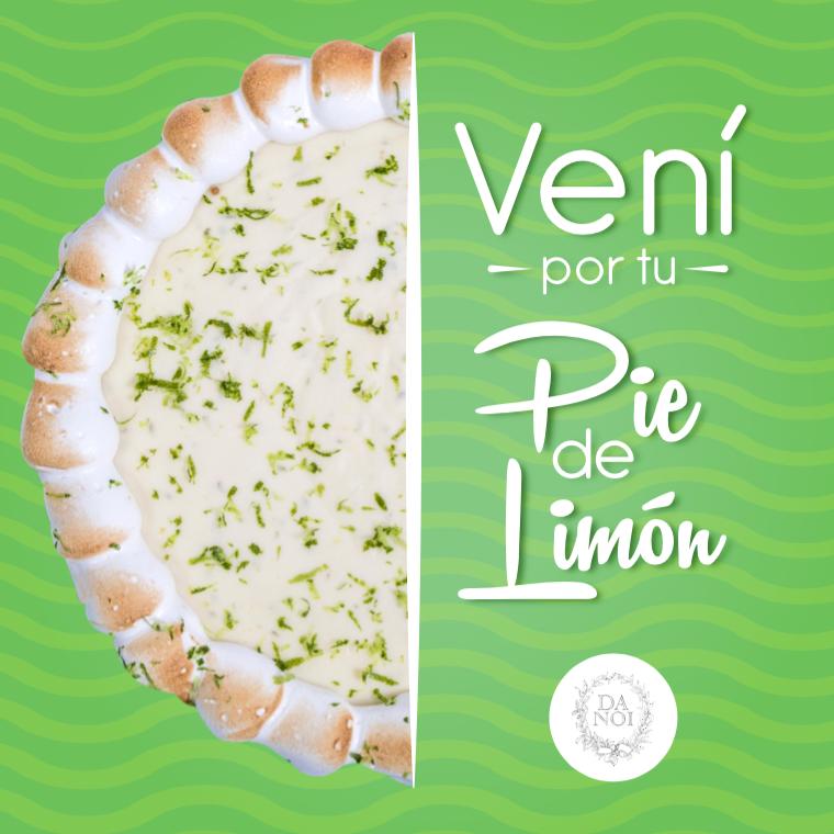 DaNoi Pie de limón