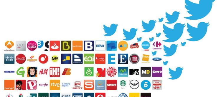 Marcas en Twitter