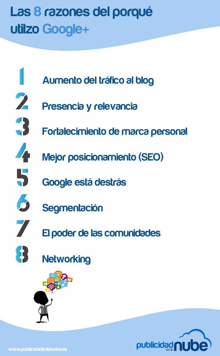 ¿Porqué usar Google+?