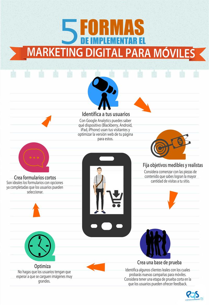 Te dejamos una infografía con algunos consejos para implementar en tu estrategia de Marketing Digital.