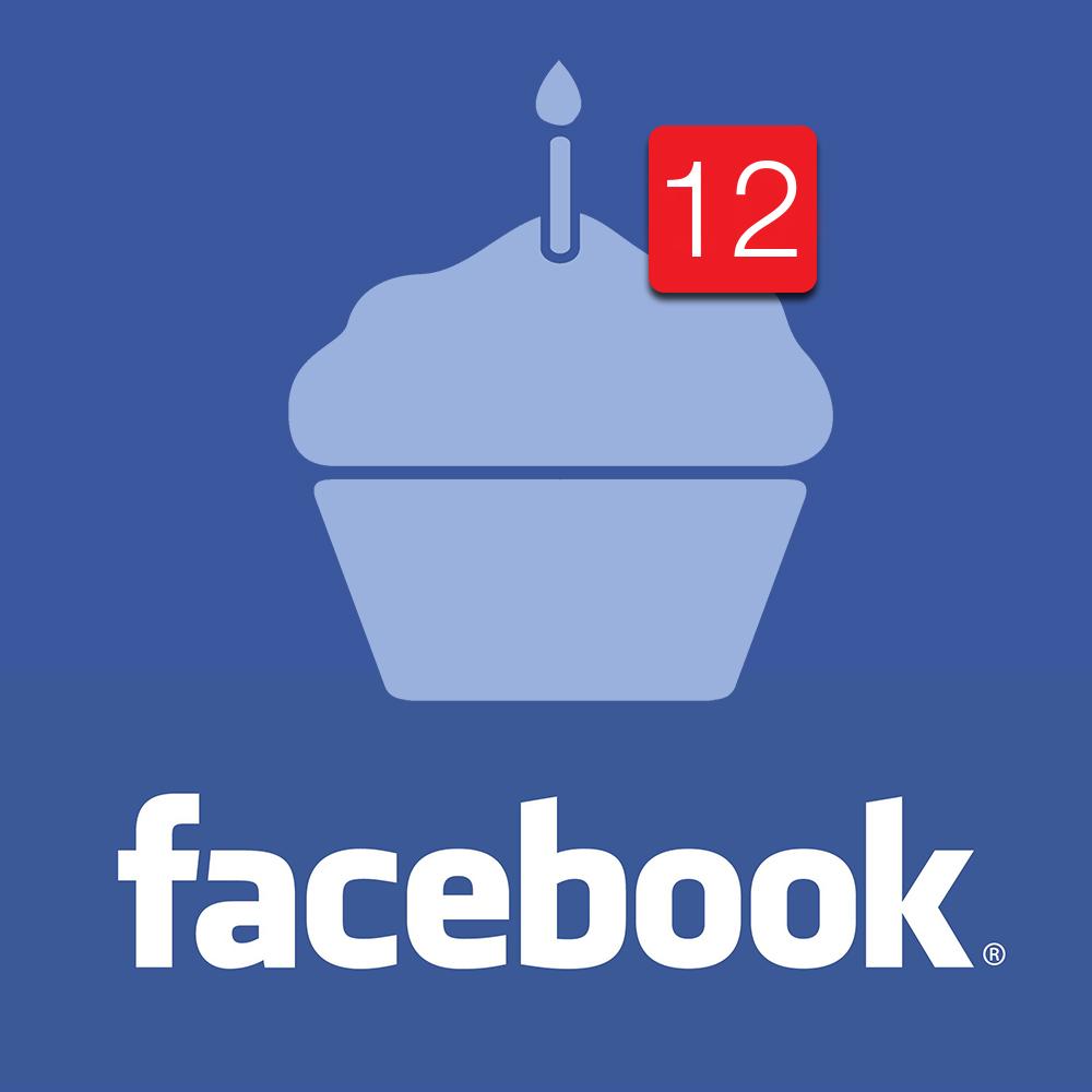 Hoy 04 de febrero, Facebook celebra su 12vo aniversario.