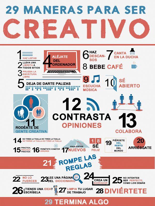 ¿Como estimular la creatividad?