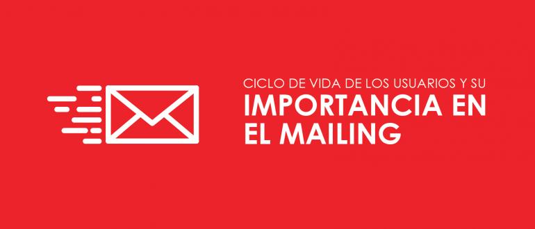 Importancia de los usuarios en el mailing