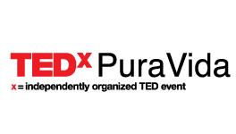 Logo TEDxPuraVida Costa Rica